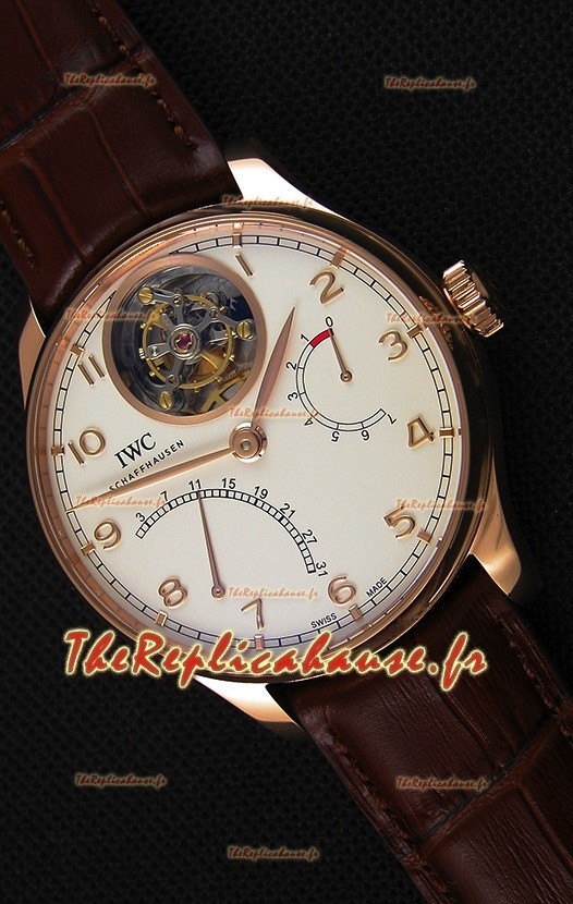 IWC Portugieser Tourbillon Mystere Retrograde IW504402 Or Rose UPDATED 2019 Version