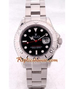 Rolex Replique Yacht Master - Silver - Hommes Size