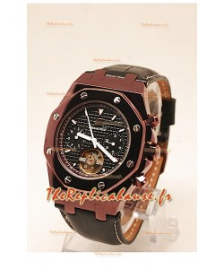 Montre Audemars Piguet Royal Oak Tourbillon PVD Marron