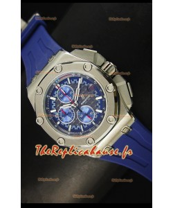 Montre Royal Oak Offshore Michael Schumacher Audemars Piguet avec mouvement à quartz - Bleue