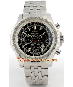 Breitling for Bentley Montre Replique - Silver