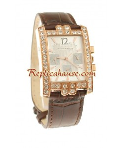 Harry Winston Avenue C Chronograph Suisse Femmes Montre Replique