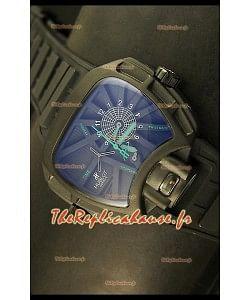 Montre japonaise Hublot Big Bang MP 02 Édition Key of Time dans boîtier en PVD
