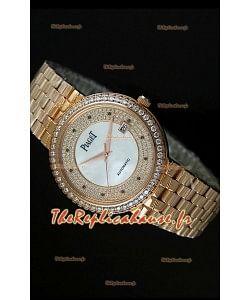 Réplique de montre suisse automatique Piaget Altiplano en or jaune