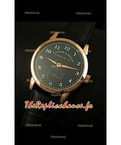 Montre à remontage manuel A. Lange & Sohne Édition 1815 dans un boîtier en or rose