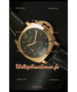 Réplique de montre suisse Panerai Luminor Marina PAM393 - Édition miroir 1:1