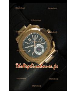 Patek Philippe Nautilus 5980 avec cadran marron - Réplique miroir ultime 1:1