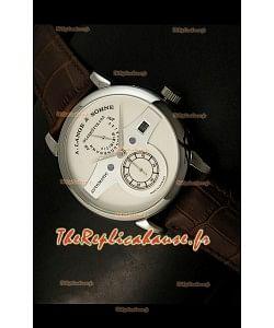 Alange Sohne Edition Zeitwerk Montre Japonaise Cadran Blanc