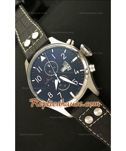 IWC Big Pilot Complications Steel Japanese Montre - 47 mm