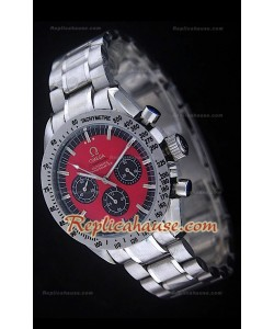 Omega Speedmaster Racing Michael Schumacher Edition Montre avec Cadran Rouge