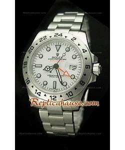 Rolex Replica Explorer II 2011 Edition Montre avec Cadran Blanc