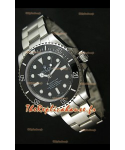 Rolex Submariner Reproduction Montre Suisse en Acier Inoxydable - Index Super Lumineux