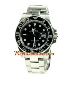 Rolex Replique GMT Suisse 2011 édition - CERAMIC BEZEL