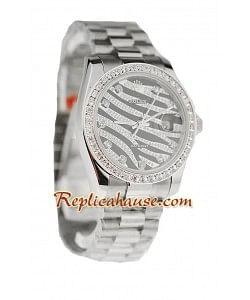 Rolex Replique Datejust Silver Montre 2011 édition