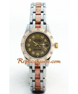 Rolex Replique DateJust - Two-tone-Lady's(Rose d' or)