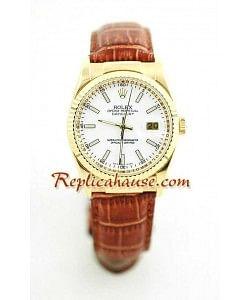 Rolex Replique Datejust - Leather