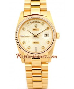 Rolex Replique Day Date-d' or