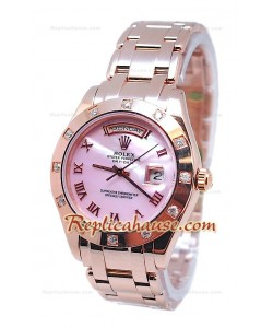 Rolex Day Date Pink Perle Cadran Montre Suisse