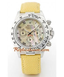 Rolex Replique Daytona - Leather Femmes 33MM