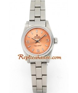 Rolex Replique Explorer I - Silver - Lady's