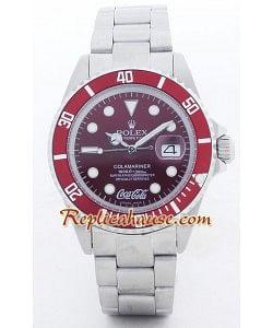 Rolex Submariner Replique - Coca Cola édition - Hommes