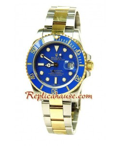 Rolex Replique Submariner Suisse Two Tone Montre