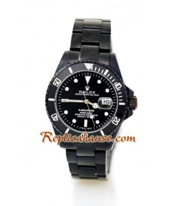 Rolex Replique Submariner Suisse PVD Montre