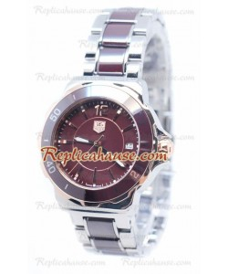 Tag Heuer Formula 1 Quartz Brown Ceramic Bezel Montre