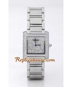 Cartier Tank Francaise Diamonds - Hommes