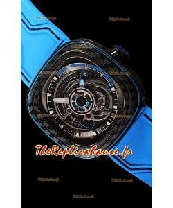Seven Friday S3/02 édition carbone avec mouvement MIYOTA original - qualité à miroir 1:1