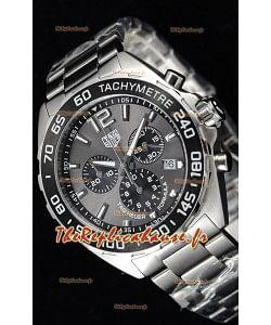 Tag Heuer Formule 1 montre suisse réplique chronographe à Quartz en cadran anthracite