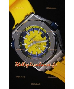 Audemars Piguet Royal Oak New Diver, Montre Réplique Suisse 1:1 en Jaune