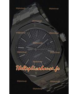 Audemars Piguet Royal Oak 41MM cadran gris Bracelet en acier - 1:1 Miroir Édition Ultime