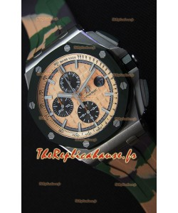 Montre Audemars Piguet Royal Oak Offshore à Chronographe Édition CAMO Réplique à l'identique 1:1