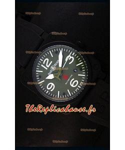 Montre Replica Suisse Bell & Ross BR03-92 avec Cadran Vert