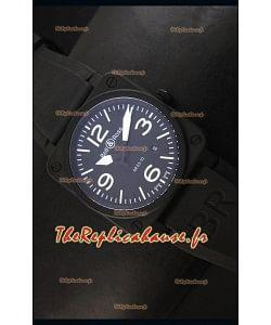 Montre Replica Suisse Bell & Ross BR03-92 avec Cadran Noir