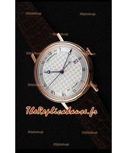 Montre Breguet Classique5177BR/12/9V6 Rose Or avec index romains