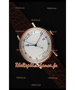 Montre Breguet Classique5177BR/15/9V6 Rose Or avec index romains