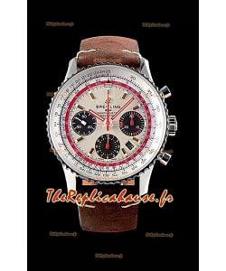 Chronographe Breitling Navitimer 1 B01 TWA Edition 43MM - 904L 1:1 Montre miroir réplique