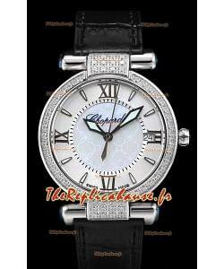 Chopard Imperiale White Dial Swiss Automatic Replica Watch en acier 904L