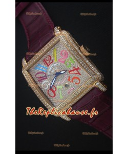 Franck Muller Conquistador King  Crazy Colors Montre Réplique Suisse automatique