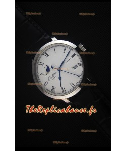 Glashuette Senator Excellence Panorama Date Moon Phase, Montre Réplique Suisse