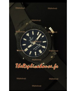 Hublot Big Bang King Full,Cadran en Carbone Céramique, Montre Réplique Suisse, Édition Miroir 1:1