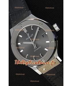 Hublot Big Bang Classic Fusion 38MM 1:1 Montre Réplique Miroir cadran gris