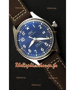 Montre IWC Pilot's MARKXVIII IW327010 Suisse Cadran bleu acier Le Petit Prince Réplique à l'identique 1:1 Édition Miroir