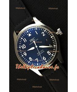 Montre IWC Pilot's MARKXVIII IW327009 Suisse Cadran Noir Réplique à l'identique 1:1 Édition Miroir