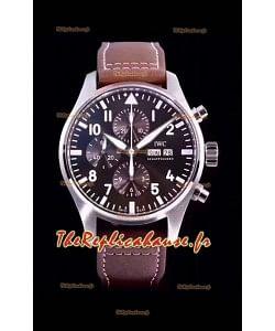 Chronographe de pilote IWC IW377713 Antoine De Saint Exupéry 904L Réplique miroir 1:1 en acier