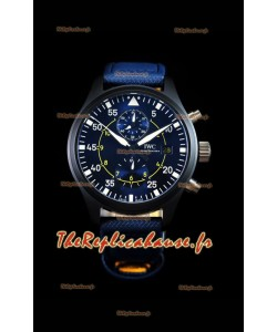 Chronographe de pilote IWC IW389008 Blue Angels Edition 1:1 Reproduction de montre à miroir