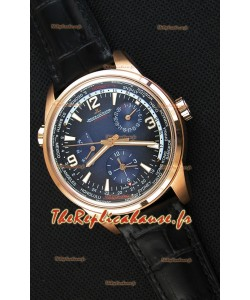 Jaeger-LeCoultre Polaris Geographic Or Rose Montre Réplique Suisse - 904847J