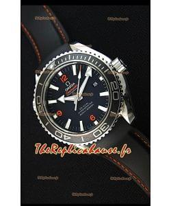 Montre Omega Seamaster Planet Ocean 45mm Suisse Bracelet noir, Édition Ultime
